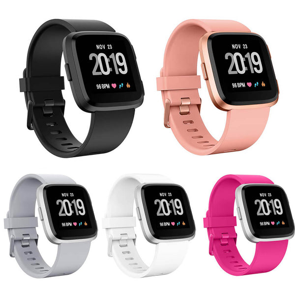 5-Pack Sport Wristband Replacement for Fitbit Versa / Versa Lite / Versa SE - BandGet
