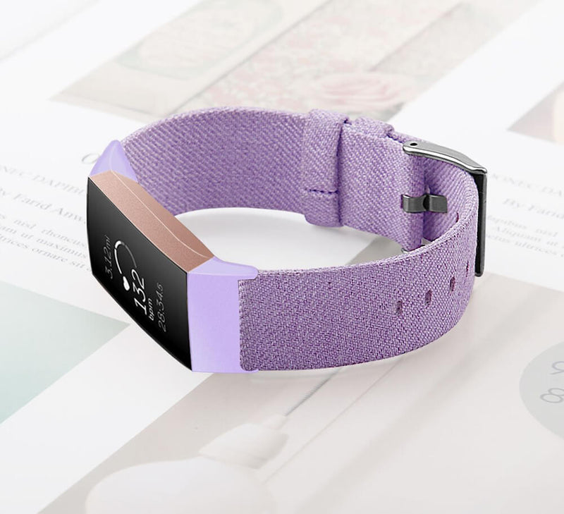 Nylon Canvas Bands for Fitbit Charge 3 & 3 SE & 3 SE - BandGet