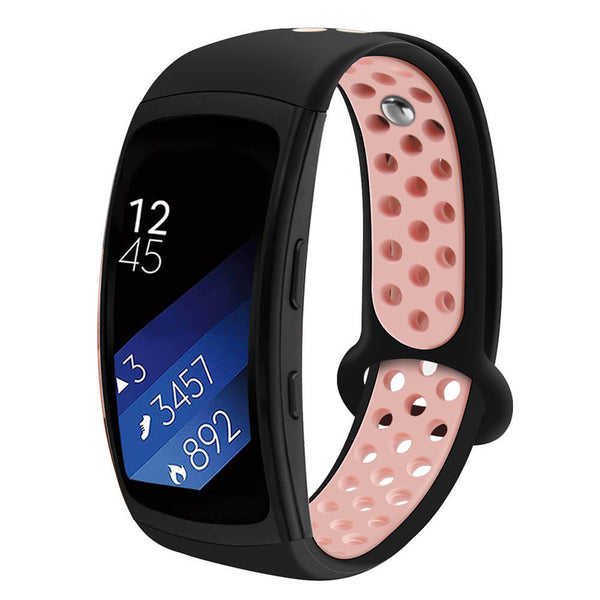 Soft Silicone Sport Replacement Strap for Samsung Gear Fit2 /Fit2 Pro Band
