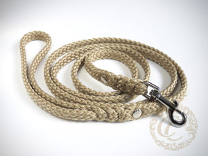 Handmade dog leash CollarCrafts / paracord dog leash
