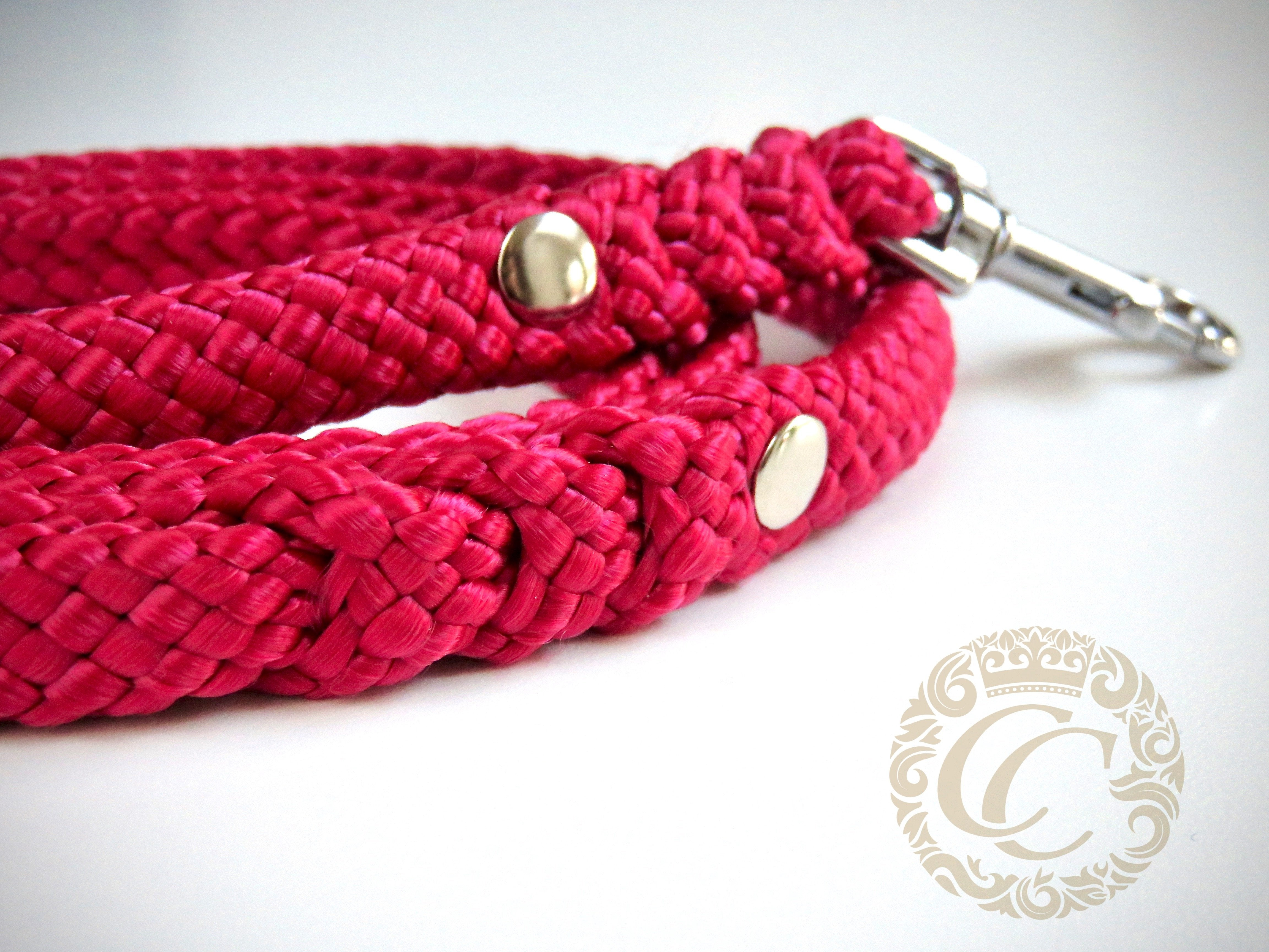 Handmade dog leashes CollarCrafts / paracord dog leash