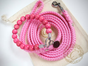 "Dog collar ""Candy Pink"" 