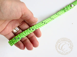 Dog leash for small & medium dogs Neon Mint | Dog Collars | Cat Collars | CollarCrafts