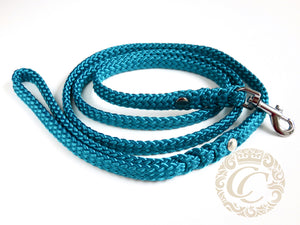 Dog leash for small & medium dogs Aqua | Dog Collars | Cat Collars | CollarCrafts