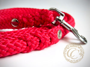 handmade dog collars and leashes / paracord leash