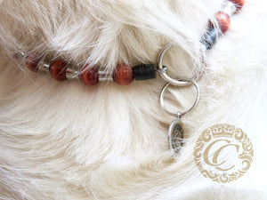 id tag collar collarcrafts dog collars halsbanden