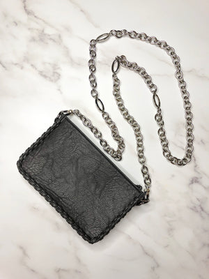 Lauren Classic Bag & Silver Adjustable Chain