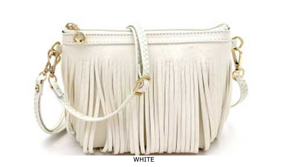FRINGED BOHEMIAN SMALL CROSS BODY