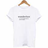 Women's Wanderlust Definition T Shirt-105 Hillside