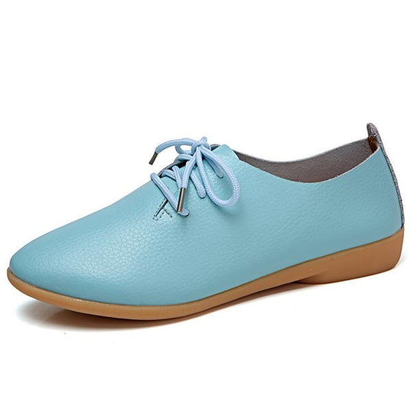 Women's Moccasins Soft Pointed Toe Loafers-105 Hillside