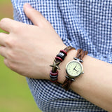 Unisex Genuine Leather Watch-105 Hillside