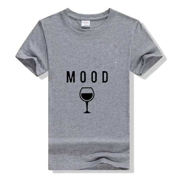 Women's Mood Graphic T-Shirt-105 Hillside