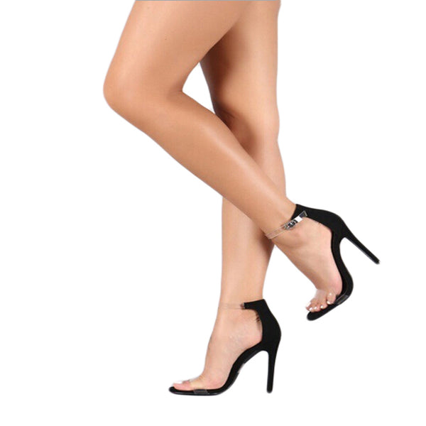 Women's PVC Platform High Heels-105 Hillside