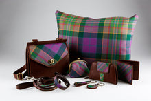 Load image into Gallery viewer, Peak District Tartan Key Ring - Heart