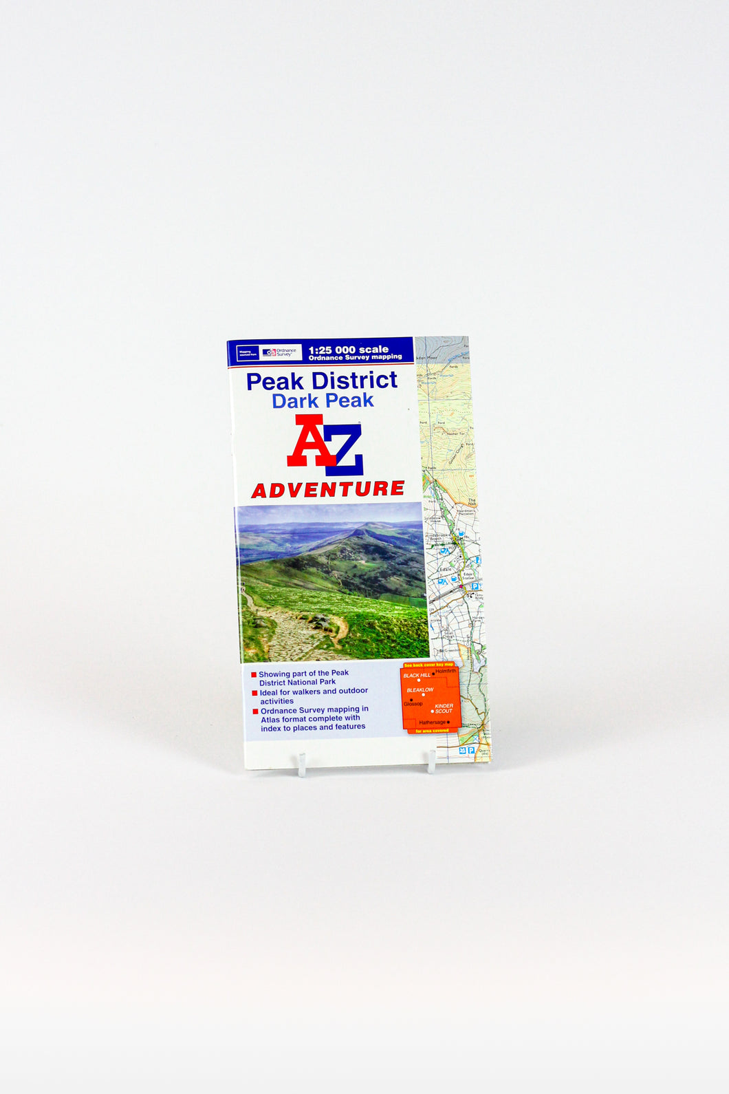 A-Z Adventure Atlas of the Peak District  -  Dark Peak