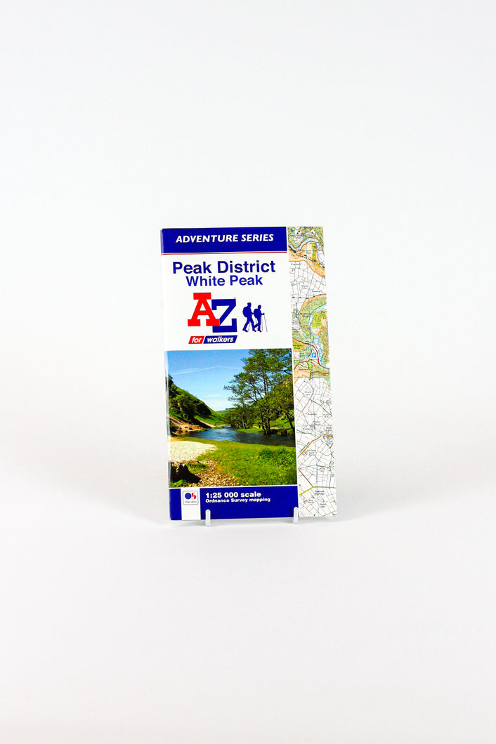 A-Z Adventure Atlas of the Peak District - White Peak
