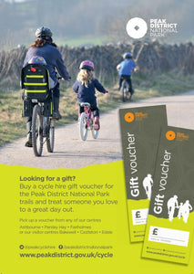 Peak District Bike Hire Voucher (various)