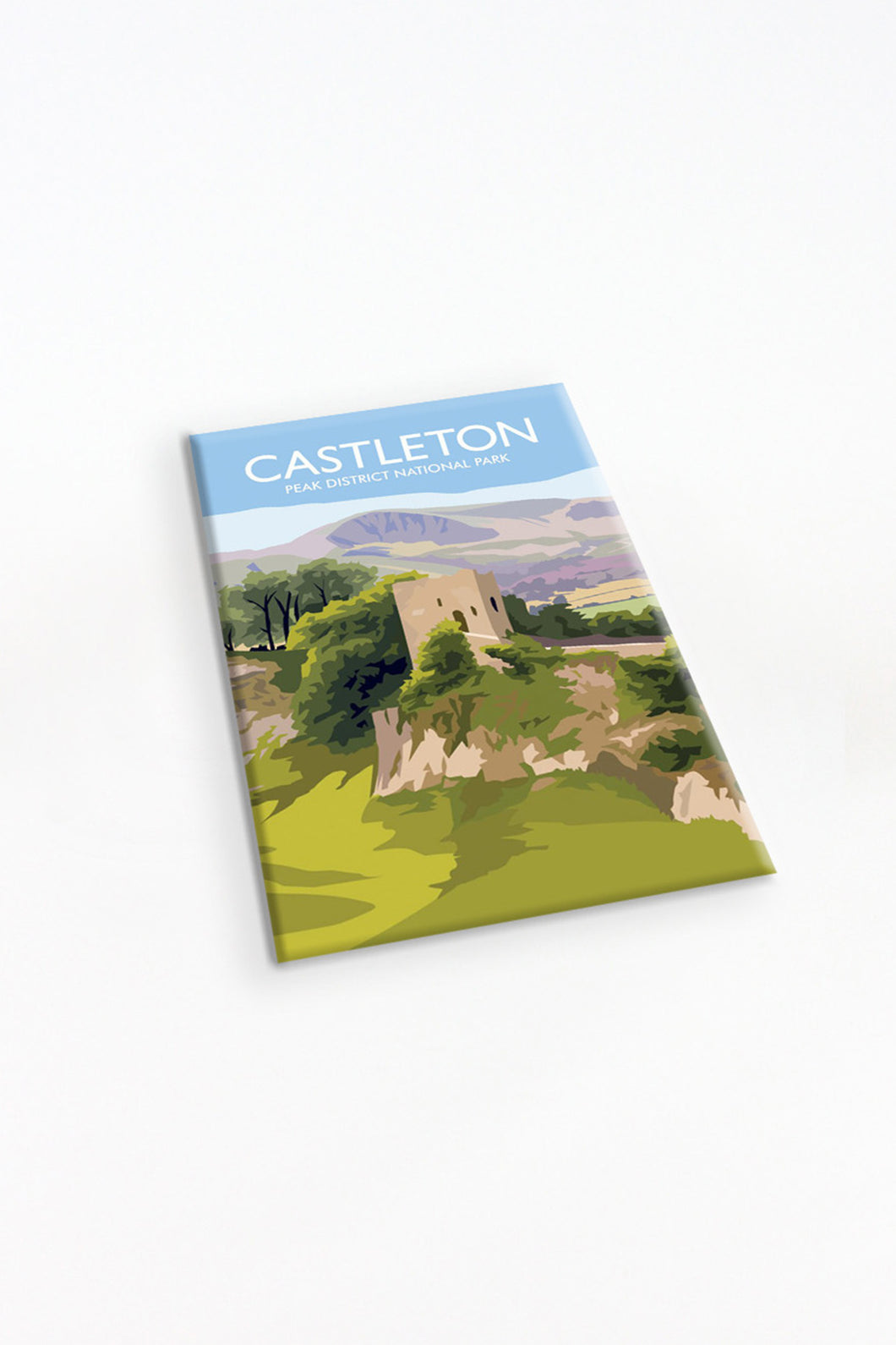 Peveril Castle Fridge Magnet