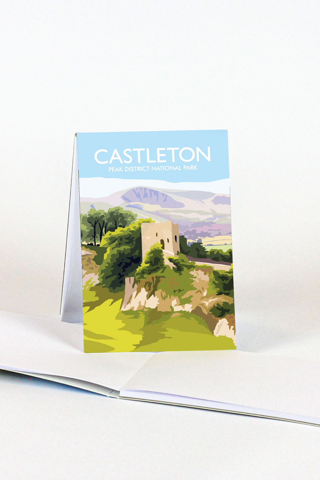 Peveril Castle Magnetic Notepad