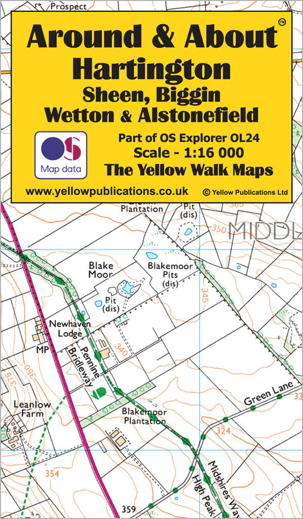 Around & About Hartington, Sheen, Biggin, Wetton & Alstonefield