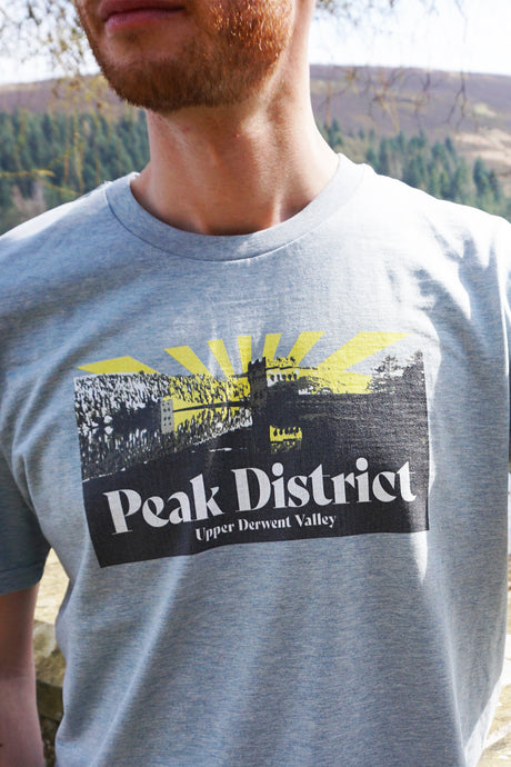 Upper Derwent Valley Sunrays T-shirt