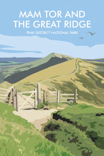 Load image into Gallery viewer, Mam Tor & the Great Ridge Keyring