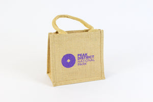 Peak District Mini Jute Bag