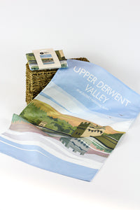 Upper Derwent Valley Tea Towel