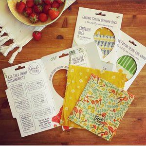 Beeswax Sandwich Bags by Good To Bee