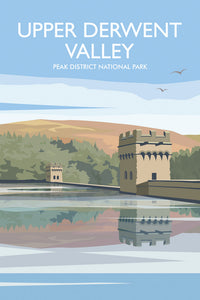 Upper Derwent Valley Fridge Magnet