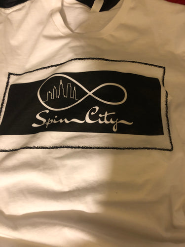 SPINCITYCOLLECTION 1st Edition short sleeve tee - White