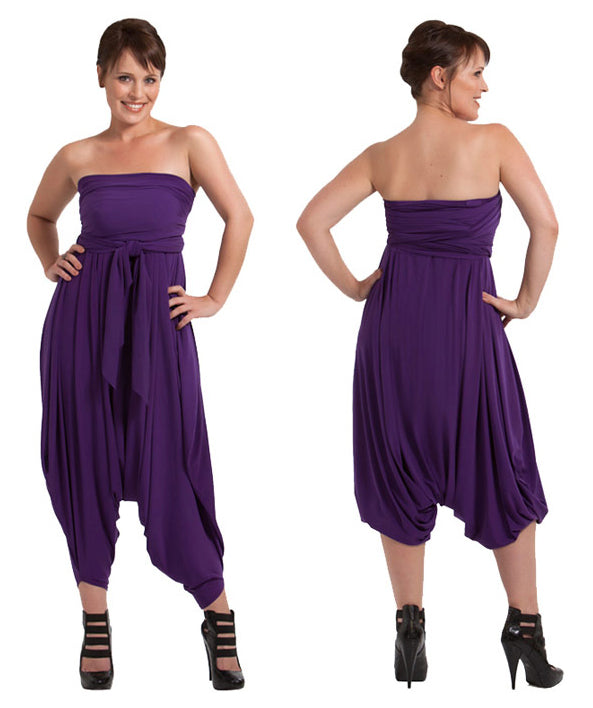 Jasmine jumpsuit Purple