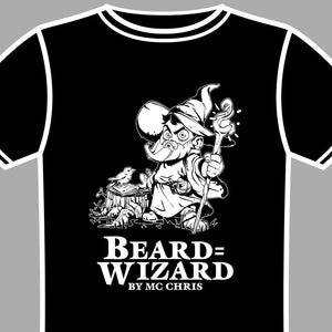 beard wizard shirt