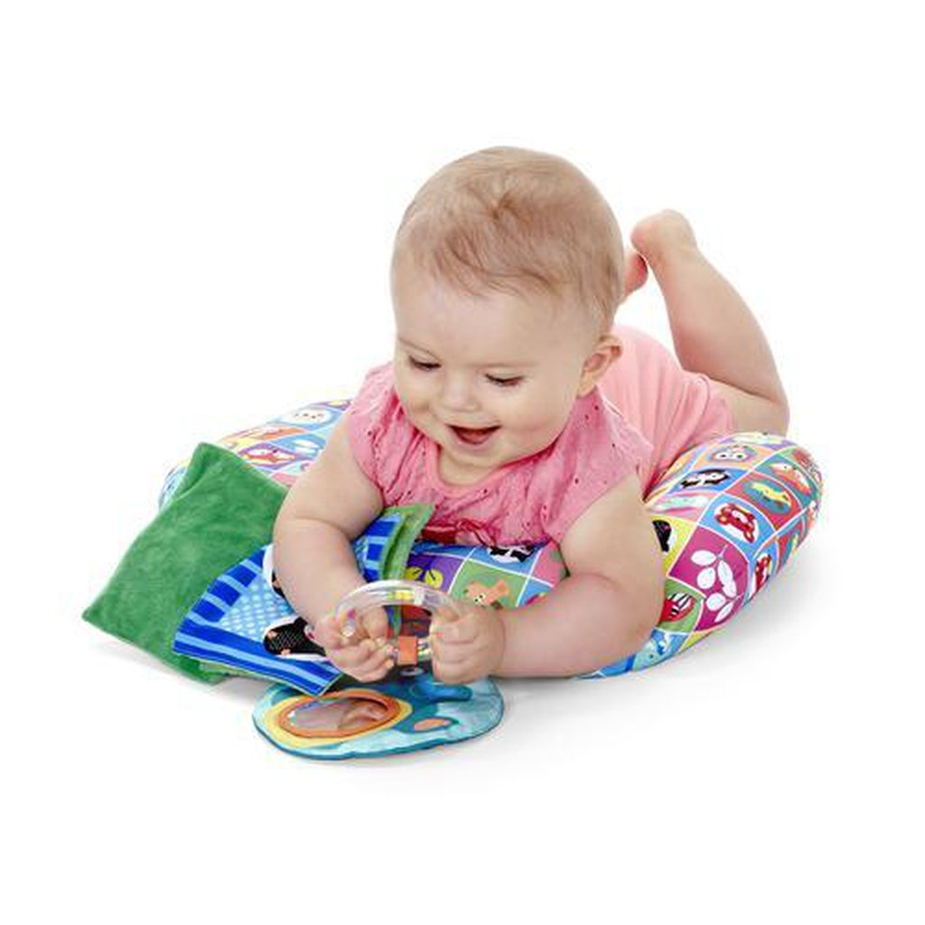 Chicco Move n' Grow Tummy Time Animal Pillow - Winkalotts