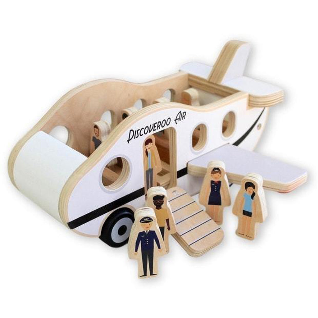 Discoveroo Plane Play Set - Winkalotts