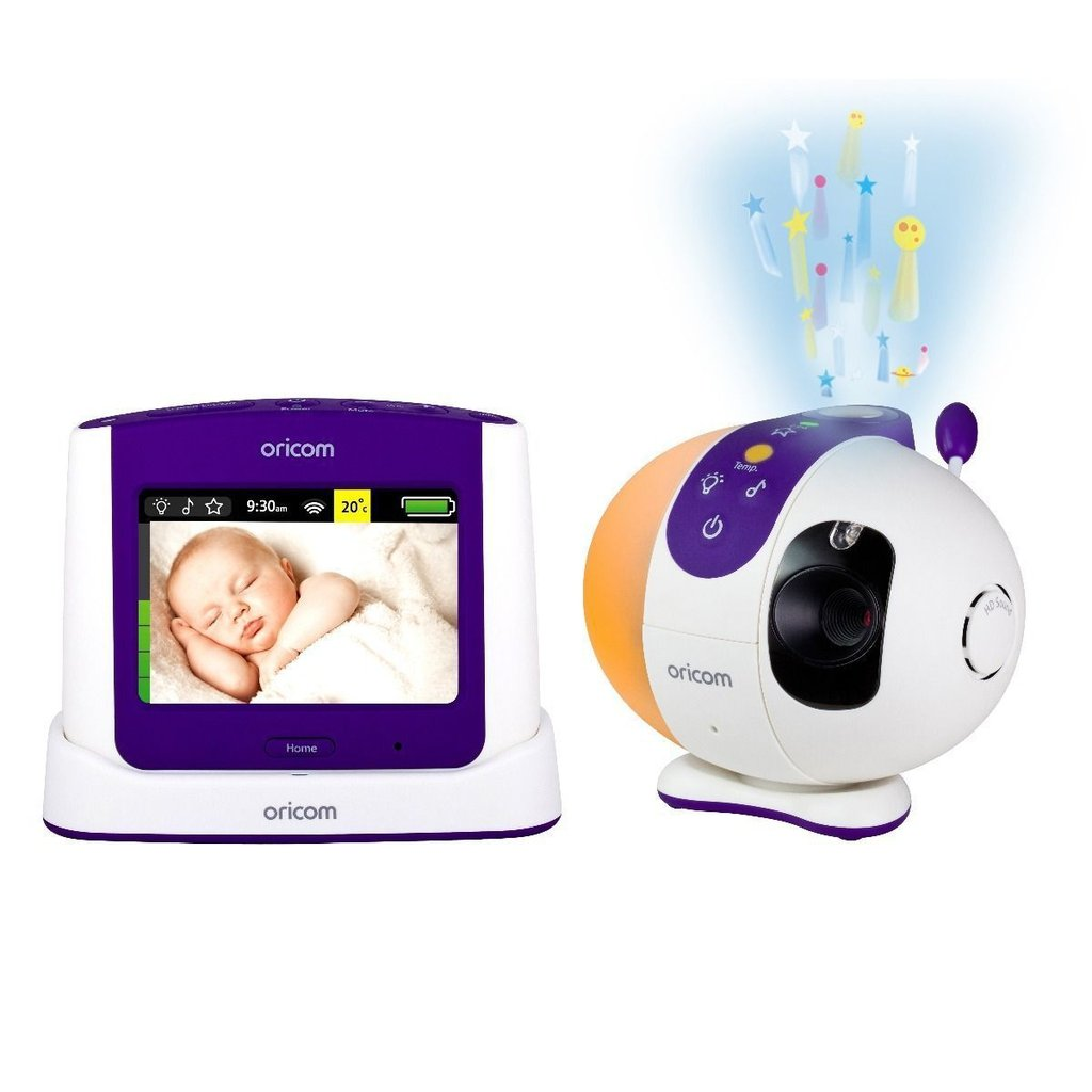 Oricom Secure870 Touchscreen Video Baby Monitor - Winkalotts