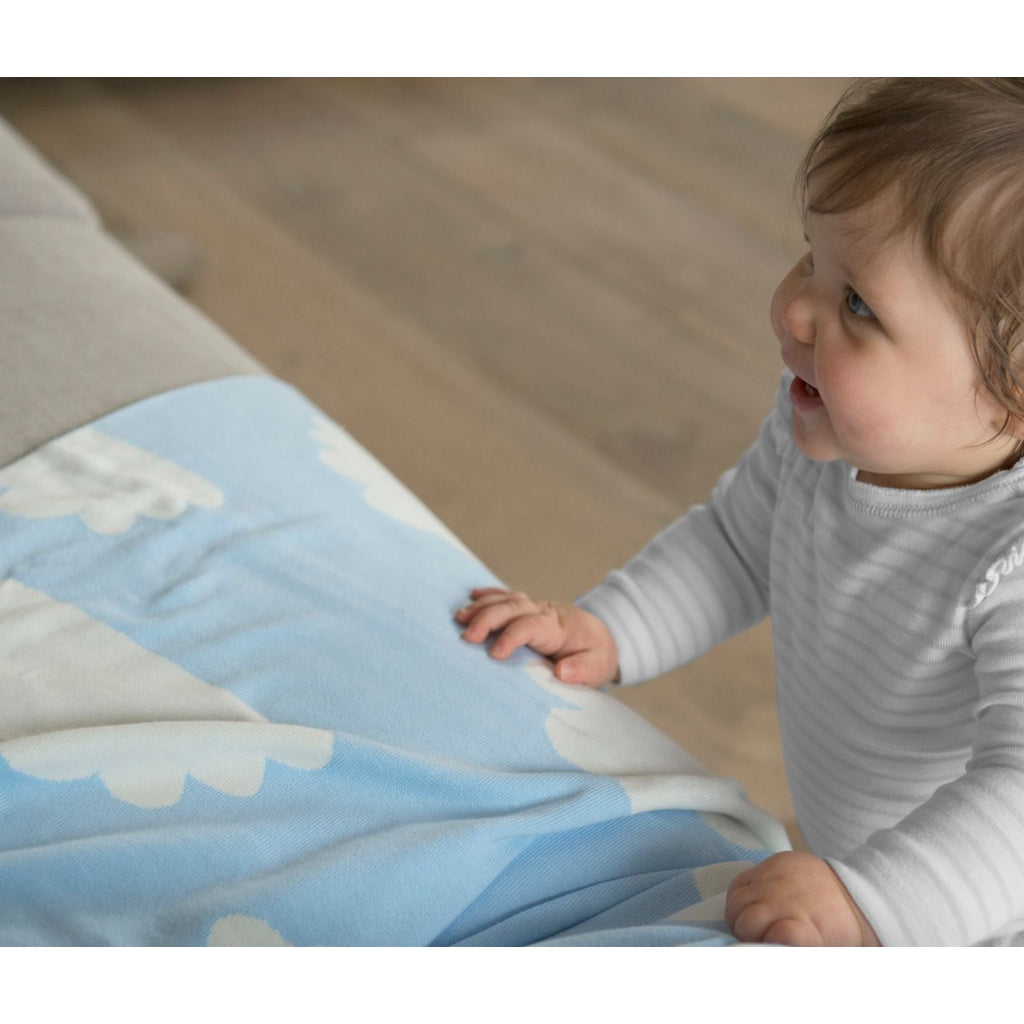 The Little Linen Company Weegoamigo Knitted Blanket - Winkalotts