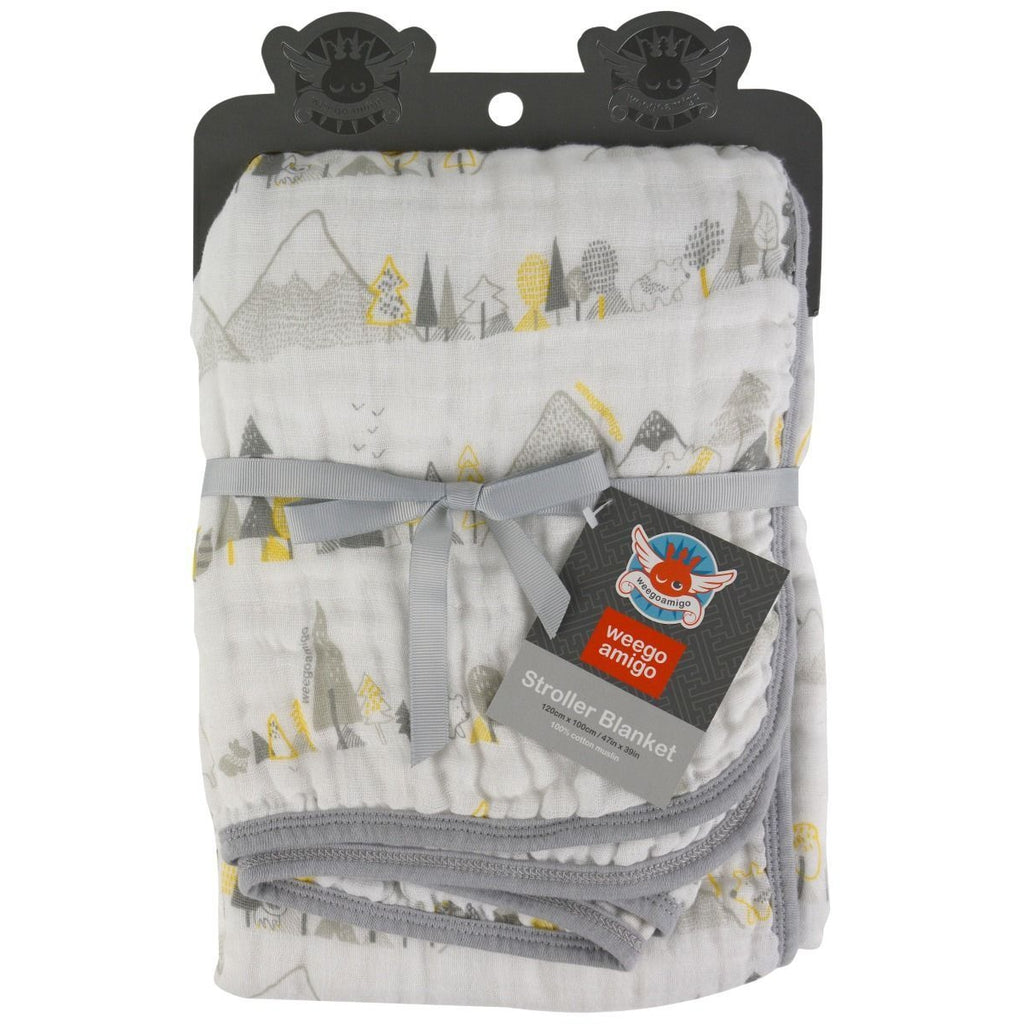 The Little Linen Company Weegoamigo Stroller Blanket - Winkalotts