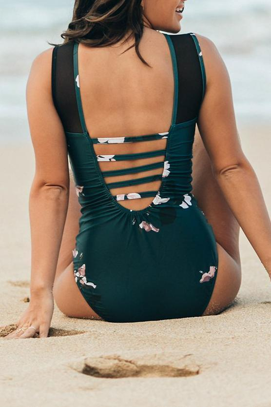 THE MARIA ONE PIECE ORCHID SWIM