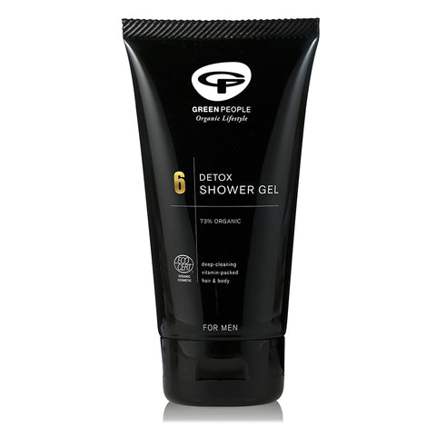 GREEN PEOPLE PARA HOMBRES. GEL DE DUCHA DETOX 150ML