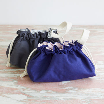 Canvas Drawstring Bag Small