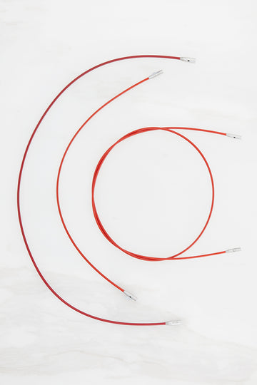 Twist Red Cables