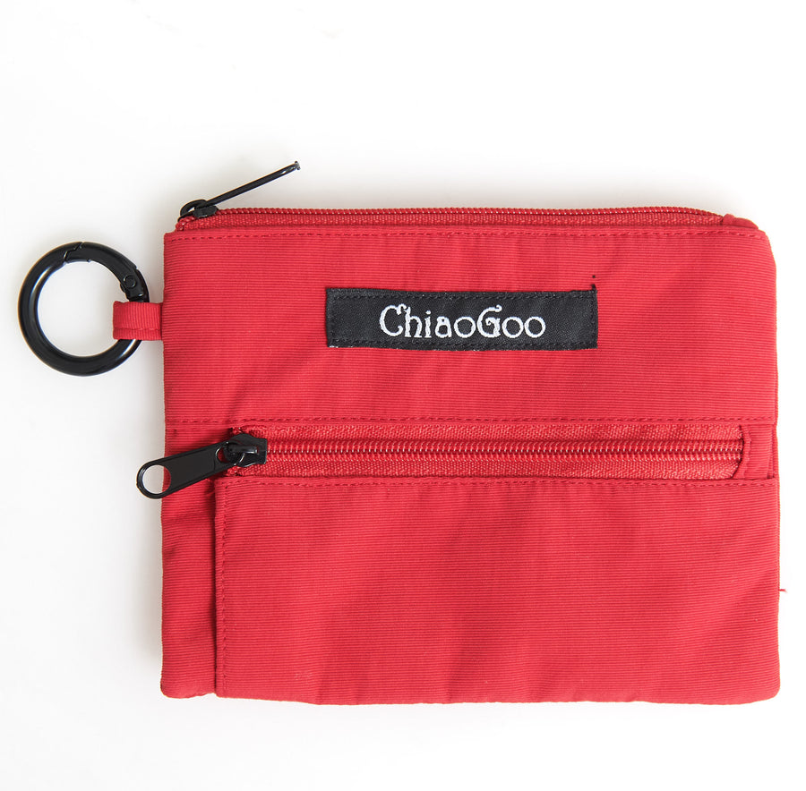 Accessory Pouch Red Nylon