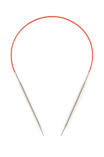 Red Lace Stainless Steel Circular 16