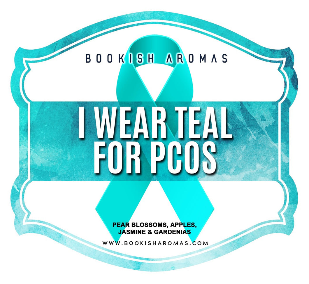 I Wear Teal For PCOS: PREORDER