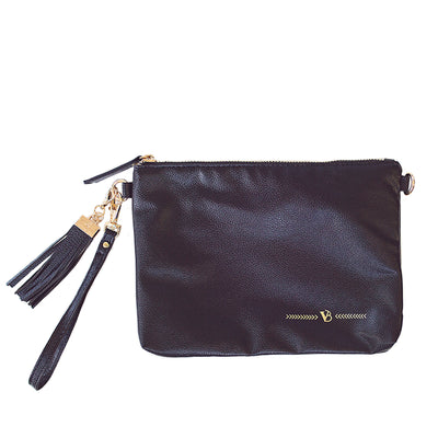 Vilah Bloom - Simple Clutch - Black