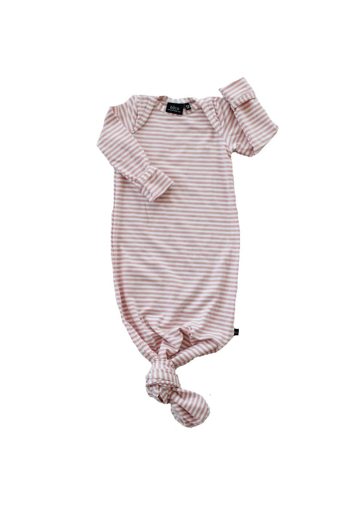 Knotted Sleeper Blush Stripe