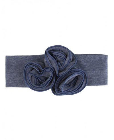 Faux Denim Emily Headband