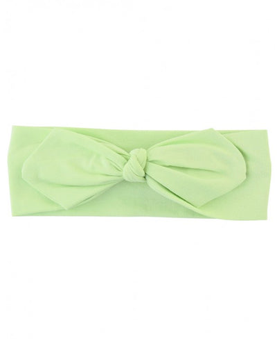 Honeydew Knotted Bow Headband