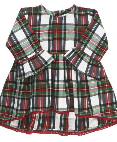 Juniper Plaid High Low